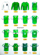 hibernian shirts through the years  a3 print (1)